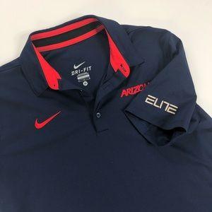 Nike Dri-fit Mens Arizona polo ELITE size medium